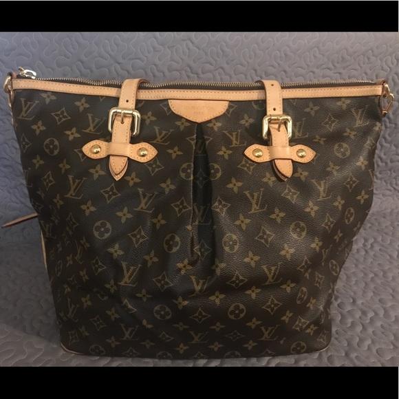Louis Vuitton Handbags - Authentic Louis Vuitton Palermo GM - OBO! 7400d45643ebd
